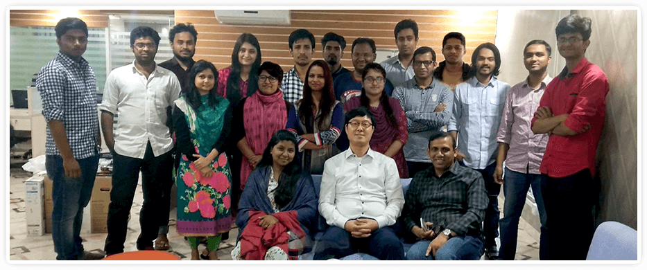 TiCon Family In Bangladesh Office